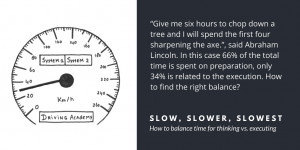 Slow, slower, slowest - Velites insights in implementation, interaction and leadership