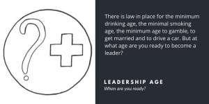 How old is a leader? - Velites blog about implementation, interaction and leadership