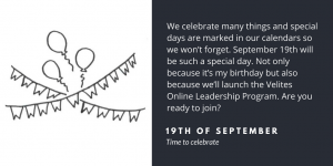 Time to celebrate   Velites blog about implementation, interaction & leadership