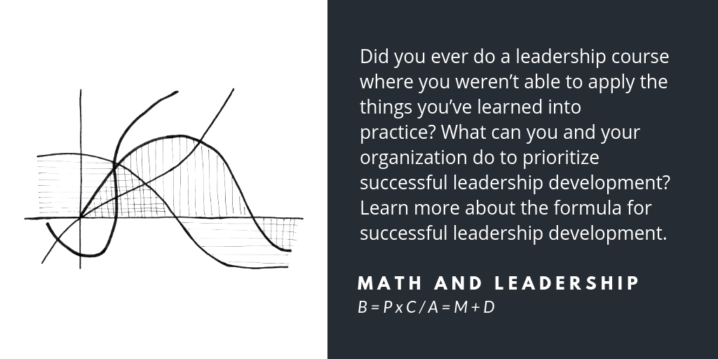 The formula for successful leadership development
