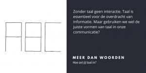 Hoe zet jij taal in? - Velites blog over implementatie, interactie & leiderschap